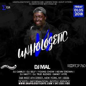 DJ Mal LIVE @COPACABANA NYC 1st & 2nd Round (LIVE AUDIO)