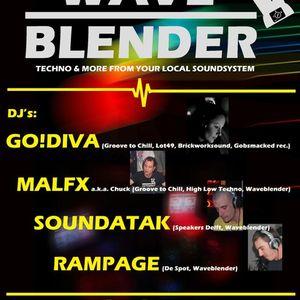 GO!DIVA live at waveblender, Club Midnight, Vlissingen, 26-03-2011