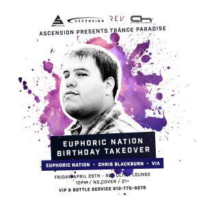Live @ REV Ultra Lounge: Ascension - Euphoric Nation Takeover