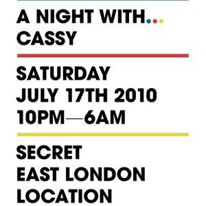 Cassy's last hour@Freaky Tikki WMC Boat Party2010