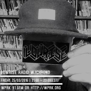 LowRise Radio w/Chrono 25/03/2016