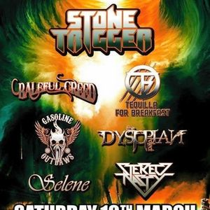 Interviews with Tequila For Breakfast and Stone Trigger on the Friday NI Rocks Show 26th Feb 2016