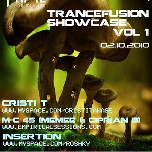 Insertion - Trancefusion Showcase 001 Live @ Club Fame (02.10.2010)