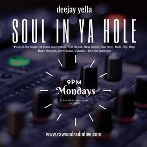 #SouLinYaHoLeRadioShow# 3rdJune2019  Another mix bag of sexxysoul with various artists .........