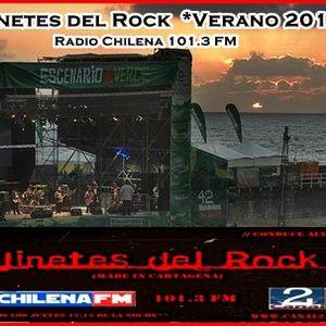 Programa Jinetes del Rock Radio Chilena 101.3 FM , jueves 13 diciembre 2012
