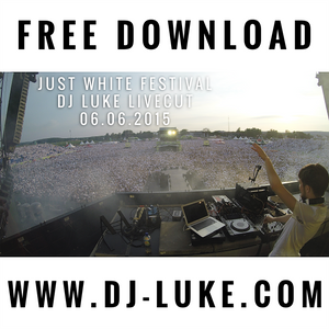 DJ Luke -live- at Just White Festival in Front of 30.000 People @ Hessentag / Hofgeismar / Germany