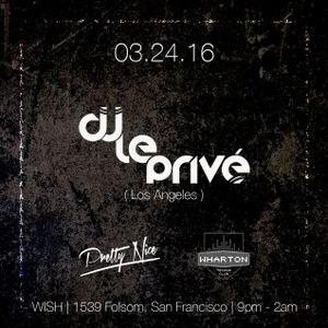 Live at Wish 3.24.16 San Francisco