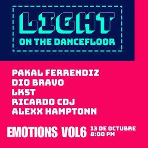 "EMOTIONS VOL 6 Live at ""Pan y Circo"" v.21.10.2017"