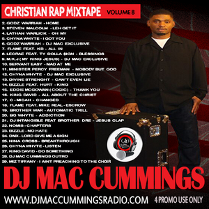 DJ Mac Cummings Christian Rap Mix Volume 8