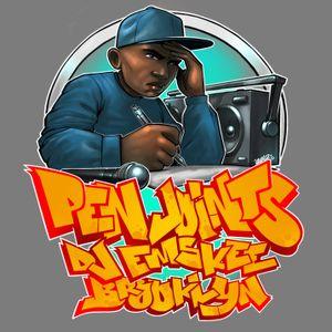 DJ EMSKEE PEN JOINTS SHOW #90 ON BUSHWCK RADIO (UNDERGROUND/INDEPENDENT HIP HOP) - 12/21/18