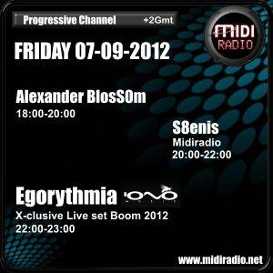 S8enis @ Midiradio 07/09/2012