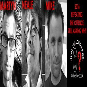 Why the Long Face? with Neale and co. on IO Radio 040417