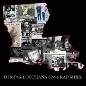 DJMP45 - LOUISIANA 89-94 RAP MIXX
