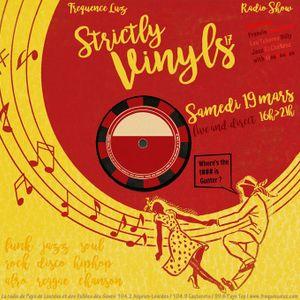 Strictly Vinyls #17 - Mars 2016 - Francis Facultatif, Lou Tcherno Billy, Jazz El Chatazz / Focus Q-S