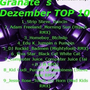 GRANATE_Dezember TOP 10 HOUSE Mix