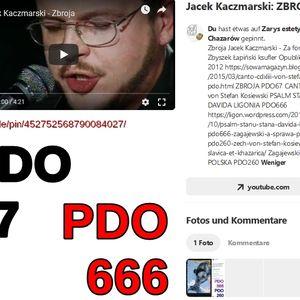 ZBROJA PDO67 von Stefan Kosiewski CANTO CDXLIII SSetKh FO ZECh ZR DO PRACY PDO325 20190613 ME SOWA 2