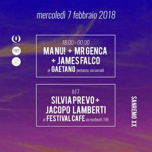 Mr Genca @ Gaetano (Perbacco) Sanremo 07.02.2018
