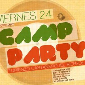 Oscar Vazquez @ Camp-party 2012 (El Bierzo)
