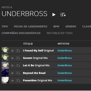 UnderBross -Tracks mix Beatport ambber records