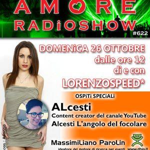 LORENZOSPEED present AMORE Radio Show # 622 with ALCESTi DEL FOCOLARE, FRANZ, MAX PAROLiN part 2