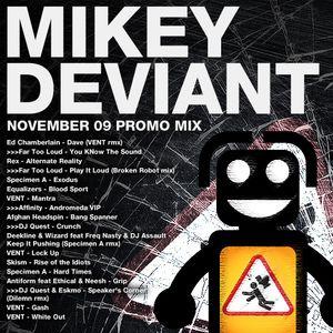 Mikey Deviant November 09 Mix