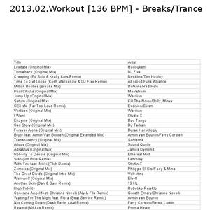 2013.02.Workout [136 BPM] - Breaks_Trance