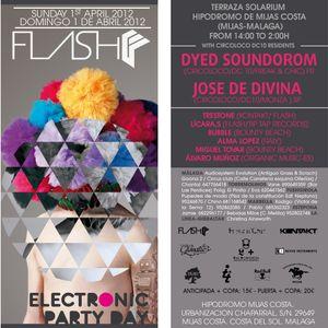 DJ Miguel Tovar - Live DJ Set @ Terraza hipódromo Mijas (Flash Party nº1)