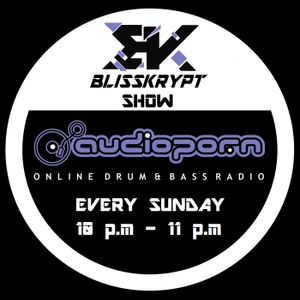 """Blisskrypt ''All D&B Show"""" on Audioporn FM (29/11/15)"""