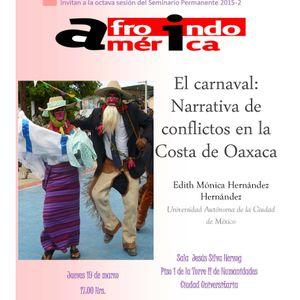"""""""El carnaval: narrativa de conflictos en la Costa de Oaxaca"""""""