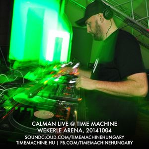 Calman Live @ Time Machine Wekerle Arena 20141004