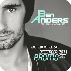 Ben Anders - Last But Not Least - December 2011 Promo Set