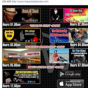 Impact Radio -  The Wednesday Night Dance Party 10-07-15 - DJ Greg G