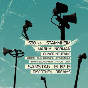 Tayfun Tufan @ S38 vs. Stammheim - Discothek Dreams Koblenz - 13.07.2013