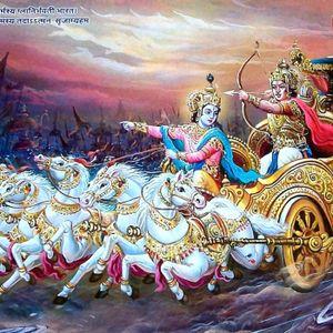 #24 - Context en zegt Shri Krishna dat wij moeten vechten? | Vragen Vrijdag