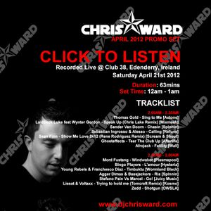 Chris Ward April 2012 Promo Mix