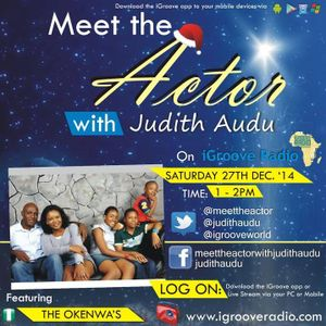 Meet the Actor with Judith Audu The Christmas Bumper Package