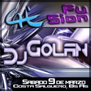 DJ Golan @ Caix - Fusion 09-03-2013