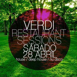 Sábado 28 de Abril @ Verdi Restaurant