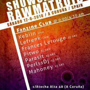 Lefrenk - Live @ Rawmatroid Showcase 2010 (Spain)
