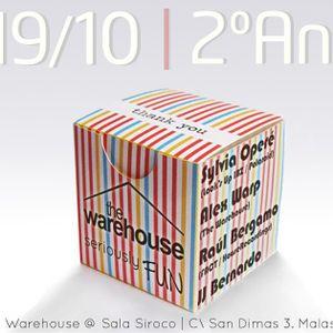 Raul Bergamo @ Siroco The Warehouse 2º aniversario.
