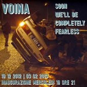 Soon We'll Be Completely Fearless - Voina a Macao