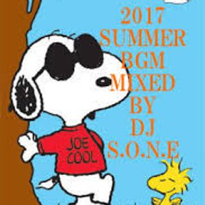 [2017 SUMMER BGM] MIXED BY DJ SONE