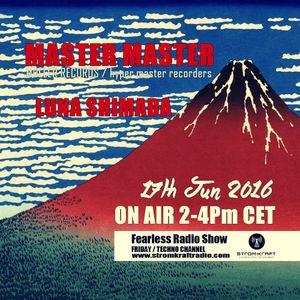 Fearless Radio Show #19 - MASTER MASTER