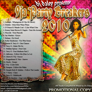 DJ Daley - 9Ja Party-breakers 2010 Mixtape