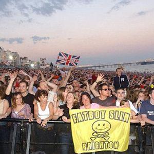 15 07 2006 - Fatboy Slim Live On Brighton Beach (2002), The Swiss Bigbeat Radio