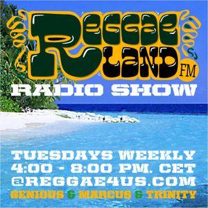 Reggaeland FM radio show @ reggae4us.com (23-Apr-2013 / P1)