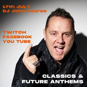 DJ John Course Live Stream Sat 17th July 2021