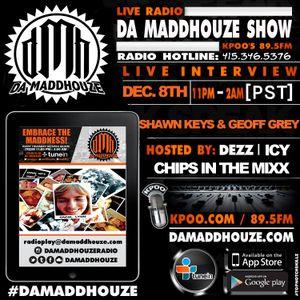 Shawn Keys and Geoff Grey call into Da Maddhouze on KPOO 89.5 FM