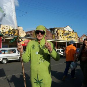 Interview with Michael Balderstone at the Madi Grass Festival Nimbin
