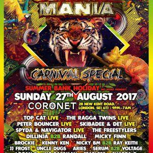 Elevated Sounds Live @ Jungle Mania (27/08/17)